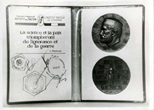 24 июня 1982г. медаль, посвященная Луи Пастеру, была на космической станции Салют-7