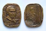 Тропинин Василий Андреевич (1776-1857) - 60*70 мм бронза
