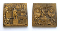Херсон (1778) - 65*65 мм керамика; 65*65 мм бронза