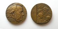 Оноре Домье (1808-1879) - d60 мм бронза