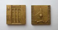 Военный инженерный краснознаменный институт (1941) - 60*60 мм бронза