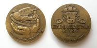 Неделя Ленинграда в Гавре (2-9 июня 1966) - d62 мм бронза
