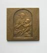 Мадонна, Леонардо да Винчи (1452-1519) - 60*60 мм бронза