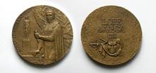 Лопе Фелик де Вега Карпьо (1562-1635) - d60 мм бронза; d60 мм бронза посеребренная