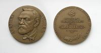 Нобель Альфред Бернхард (1833–1896) - d60 мм бронза
