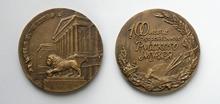 Русский музей - d60 мм бронза; d60 мм бронза посеребренная