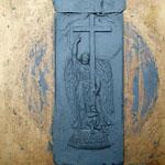 Ангел на Александровской колонне, Дворцовая площадь